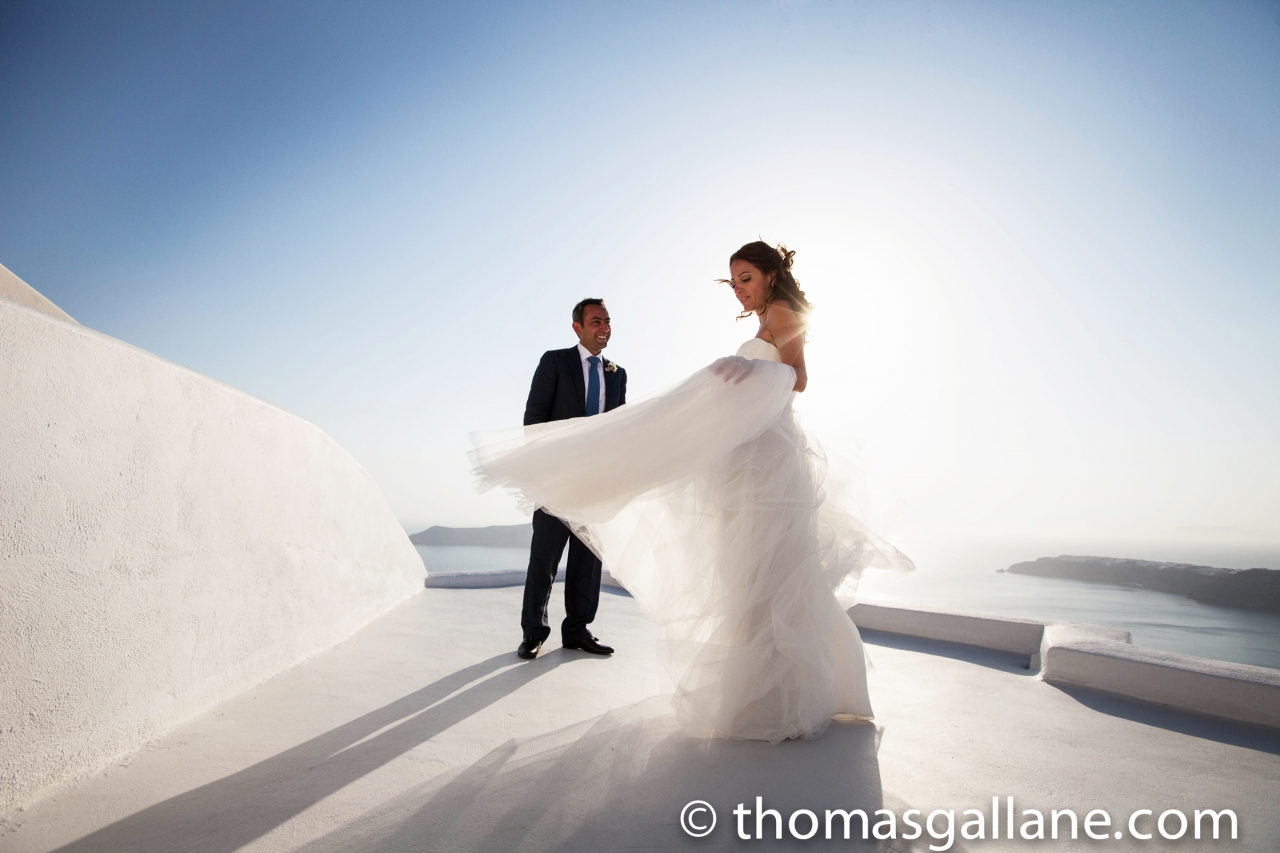 Lebanese Civil Wedding in Santorini island - Grace Hotel  Ceremony & Reception Venue